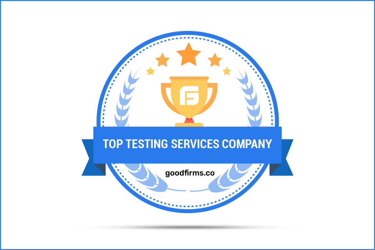 GoodFirms recognizes BugHunters for delivering innovative Testing Services